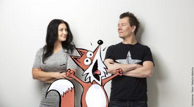 Jarkko Vehniäinen ja Marja Lappalainen